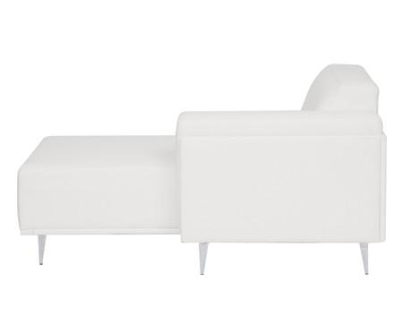 Sofá com Chaise Esquerda Antonio - Branco | WestwingNow