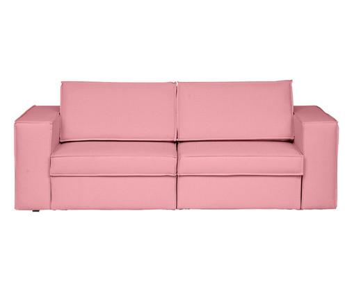 Sofá Modular Retrátil Mama - Rosa Flamingo, Rosa | WestwingNow