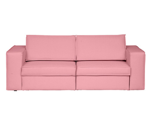 Sofá Modular Retrátil Mama - Rosa Flamingo, Rosa   WestwingNow