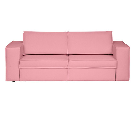 Sofá Modular Retrátil Mama - Rosa Flamingo   WestwingNow