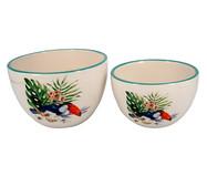 Jogo de Bowls em Cerâmica Toucan - Azul | WestwingNow