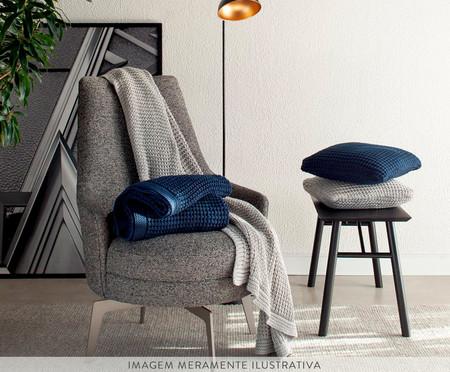Manta Tricot Coltrane - Azul Marinho | WestwingNow