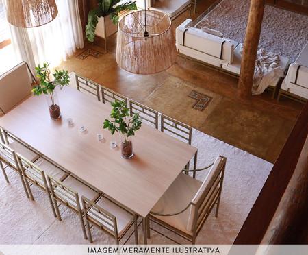 Mesa de Jantar Retangular Fjodor - Preto | WestwingNow