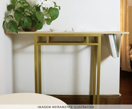 Aparador com Bolsos Natucci - Dourado   WestwingNow