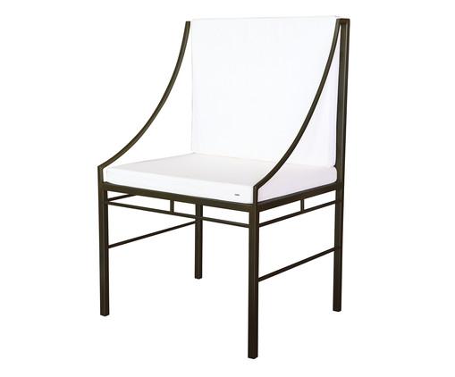 Cadeira Ponta de Mesa Hador - Preto, Preto | WestwingNow