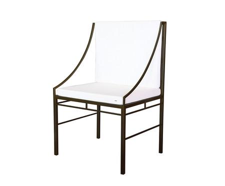 Cadeira Ponta de Mesa Hador - Preto   WestwingNow