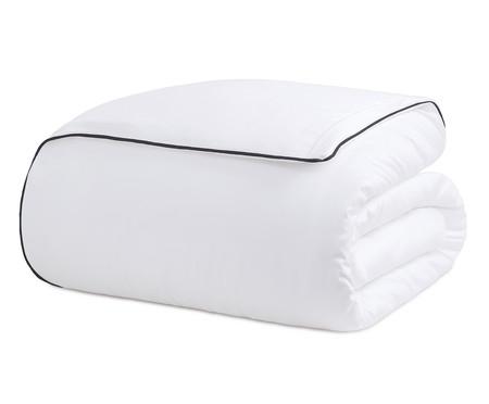 Duvet com Vivo Basics Branco e Preto - 200 Fios | WestwingNow