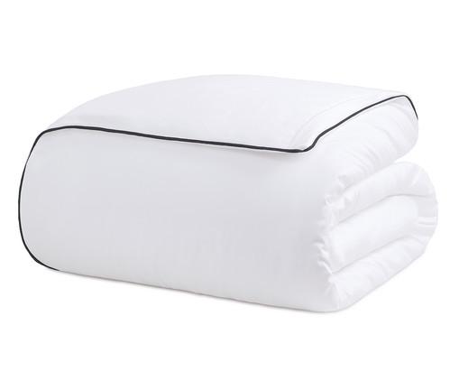 Duvet com Vivo Basics Branco e Preto - 200 Fios, Branco e Preto | WestwingNow