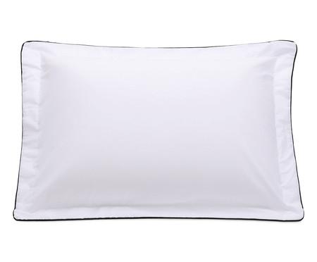 Fronha com Vivo Basics Branco e Preto - 200 Fios | WestwingNow