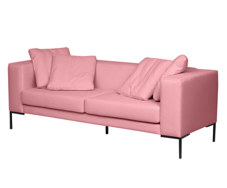 Sofá Pietro - Rosa Flamingo   WestwingNow