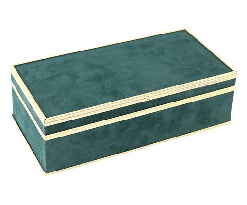 Caixa Decorativa Courtney - Verde, Verde | WestwingNow