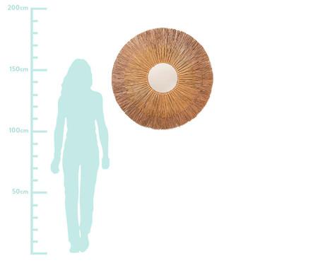 Espelho de Parede em Fibra Natural Luiz - 90cm | WestwingNow