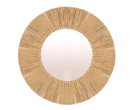 Espelho de Parede em Fibra Natural Ravi - 60cm | WestwingNow