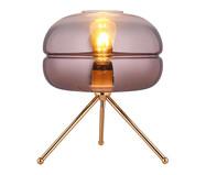 Luminária de Mesa Amber Acobreada - Bivolt | WestwingNow
