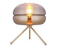 Luminária de Mesa Amber Dourada - Bivolt | WestwingNow