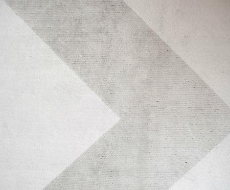 Tapete Belga Geometric Merlina - Cinza e Prateado | WestwingNow