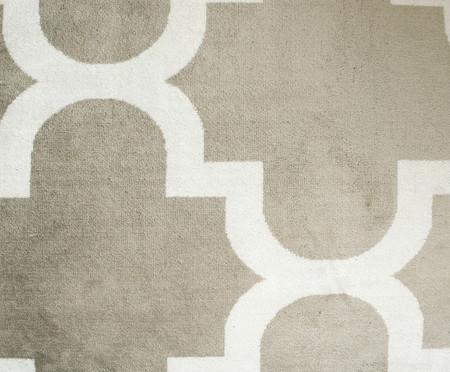 Tapete Belga Geometric Adeleide - Bege e Branco | WestwingNow