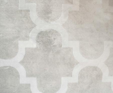 Tapete Belga Geometric Adeleide - Cinza e Branco | WestwingNow
