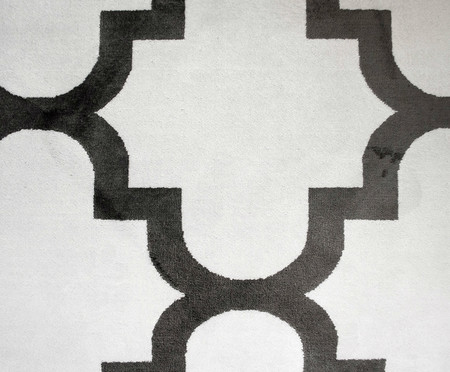 Tapete Belga Geometric Adeleide - Preto e Branco | WestwingNow