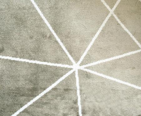 Tapete Pequeno Belga Geometric Gorgeous - Bege   WestwingNow
