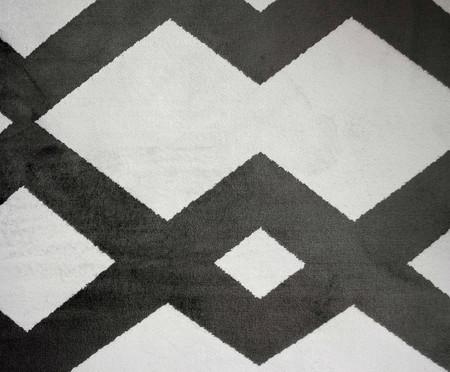 Tapete Belga Geometric Vory - Preto e Branco | WestwingNow