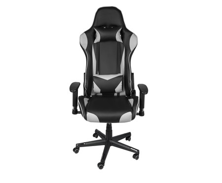 Cadeira Gamer Hawker - Cinza   WestwingNow