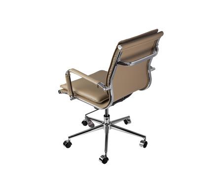 Cadeira Office Soft Baixa - Caramelo   WestwingNow