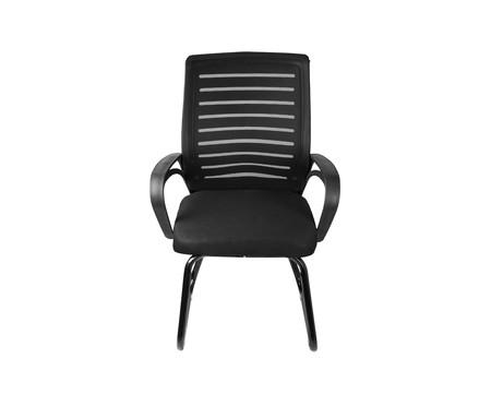 Cadeira Office Viena Fixa - Preto   WestwingNow
