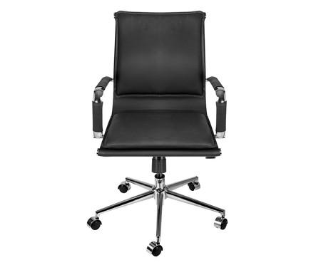 Cadeira Office Soft Baixa - Preto   WestwingNow
