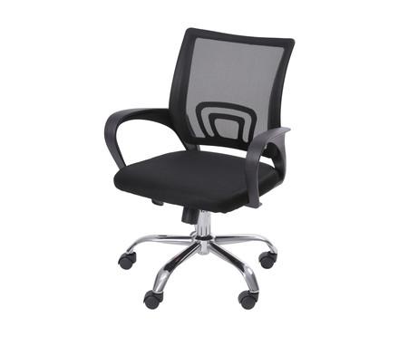 Cadeira Office Tok sem relax - Preto   WestwingNow