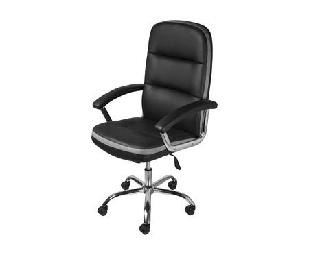 Cadeira Office Londres Alta - Preto   WestwingNow