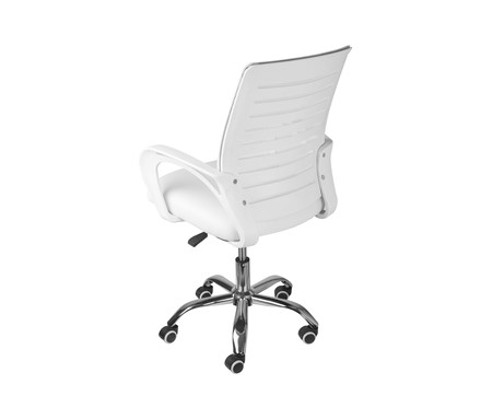 Cadeira Office Viena Baixa - Branco   WestwingNow