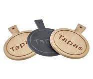 Jogo de Tábuas para Queijo em Bambu Tapas II - Natural | WestwingNow