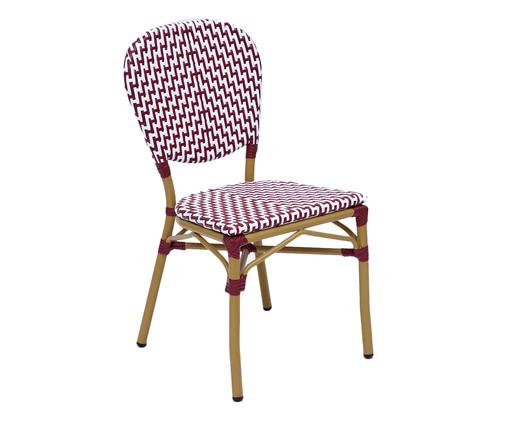 Cadeira Bistrô Loire - Bordô, Vermelho | WestwingNow