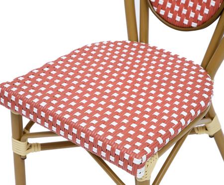 Cadeira Bistrô Blavet - Vermelha   WestwingNow