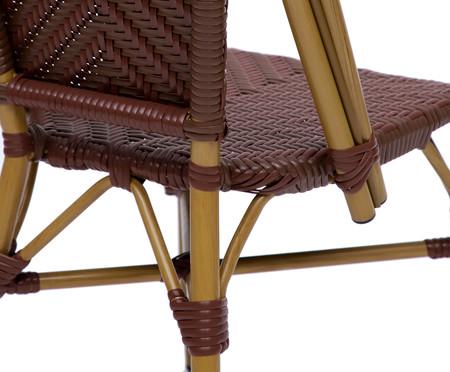 Cadeira Bistrô Asse - Marrom | WestwingNow