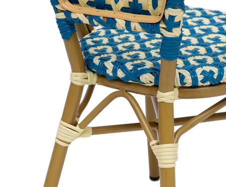 Cadeira Bistrô Aron - Azul | WestwingNow
