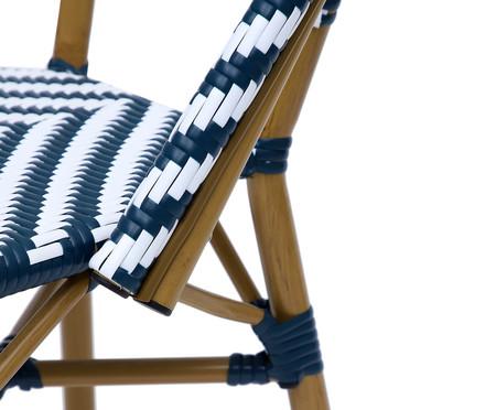 Cadeira Bistrô Bouble - Azul | WestwingNow