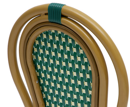 Cadeira Bistrô Blavet - Verde | WestwingNow