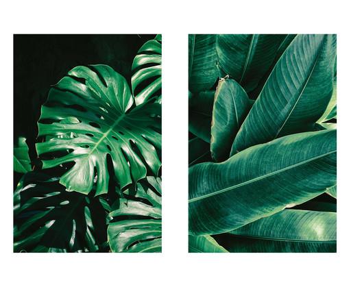 Jogo de Placas de Madeira Estampadas Young, Colorido | WestwingNow