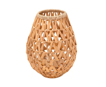 Lanterna em Fibra Natural Camila l - Bege | WestwingNow