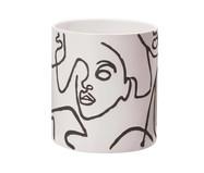 Cachepot em Cerâmica Lesa lll - Branco | WestwingNow