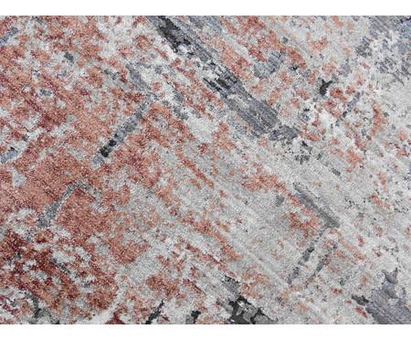 Tapete Pequeno Turco Manhattan - Cinza e Rosé   WestwingNow
