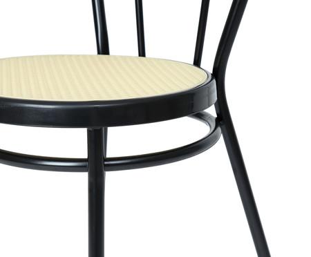 Jogo de Cadeiras Viena I - Preto e Natural   WestwingNow