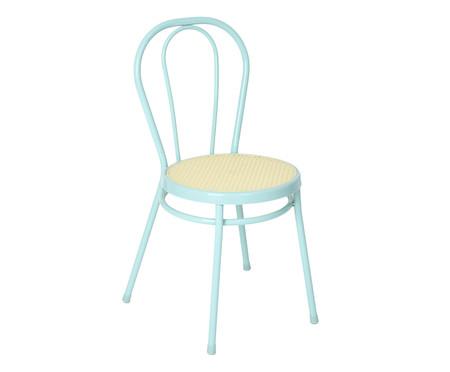 Jogo de Cadeiras Vienna I - Menta e Natural   WestwingNow