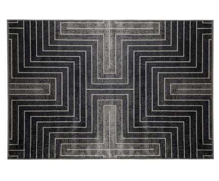 Tapete Belga Axis Geometrico - Cinza Escuro | WestwingNow