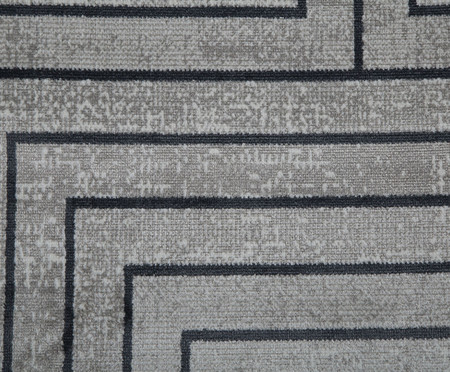 Tapete Belga Axis Geometrico - Cinza Claro | WestwingNow