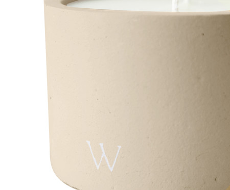 Vela Concreto Lavanda | WestwingNow