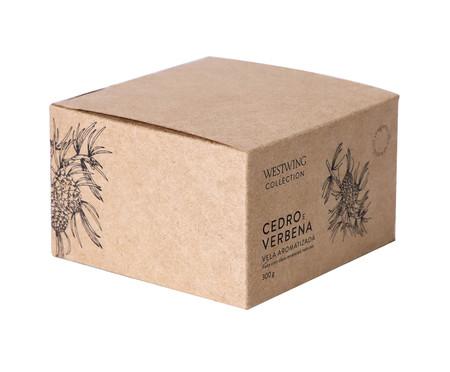 Vela Concreto Cedro e Verbena | WestwingNow