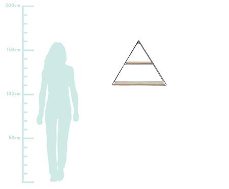 Prateleira Geo Forms Triangle - Preta | WestwingNow